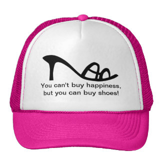Can't Buy Happiness (Shoes) Cap