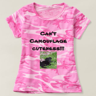 Can't Camouflage Cuteness T-Shirt