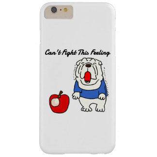 Can't Fight this Feeling! Bulldog wanna eat apple Barely There iPhone 6 Plus Case