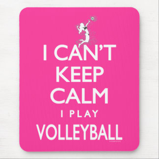 Can't Keep Calm Volleyball Mouse Mat
