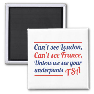 Can't See London Magnet