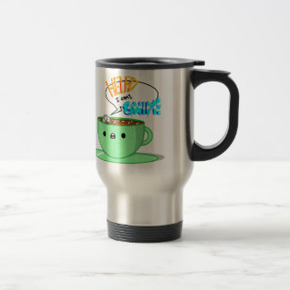 Can't Swim! Stainless Steel Travel Mug