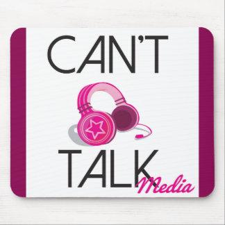 Can't Talk Logo Mousepad