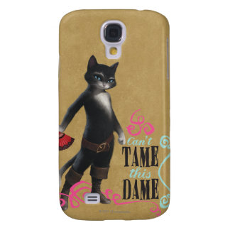 Can't Tame This Dame (color) Galaxy S4 Case