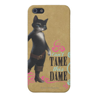 Can't Tame This Dame (color) iPhone 5 Case