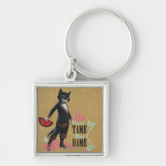 Can't Tame This Dame (color) Key Ring