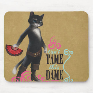 Can't Tame This Dame (color) Mouse Mat