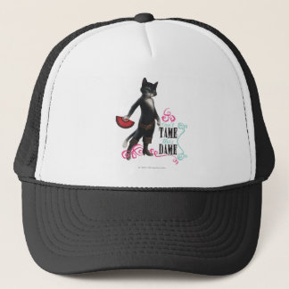 Can't Tame This Dame (color) Trucker Hat