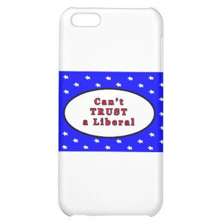 Can't TRUST a Liberal Blue 2 Stars The MUSEUM Zazz iPhone 5C Case