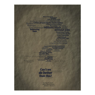 Can't We Do Better Than This? 21.5 Cm X 28 Cm Flyer