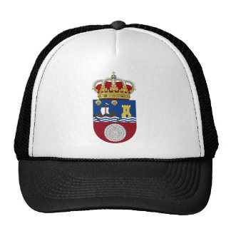 Cantabria (Spain) Coat of Arms Mesh Hat
