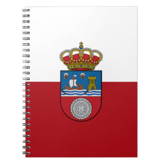 Cantabria (Spain) Flag Notebook