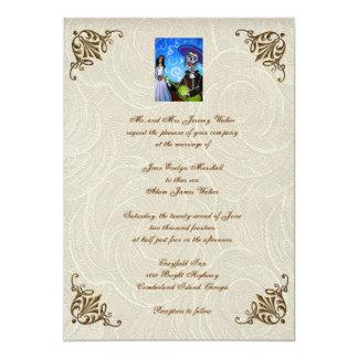 Day Of The Dead Wedding Invitations Announcements Zazzlecouk