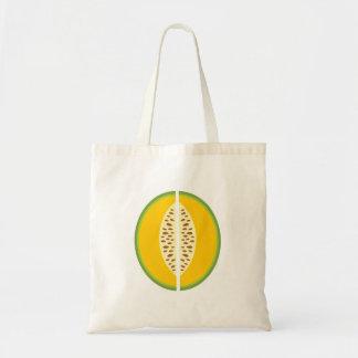 Cantaloupe Cantaloup Mushmelon Fruit Sweet Health Canvas Bags