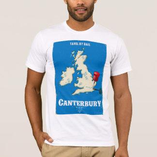 Canterbury British Isles vintage rail poster T-Shirt