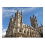 Canterbury Cathedral Kent England Post Card