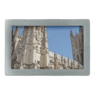 Canterbury Cathedral Kent England Rectangular Belt Buckle