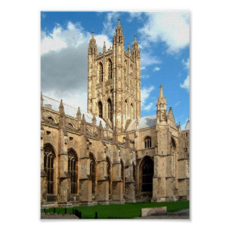 Canterbury Cathedral Poster
