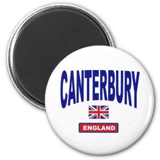 Canterbury England 6 Cm Round Magnet