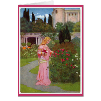 Canterbury Tales - Emelye Greeting Card