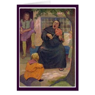 Canterbury Tales - Hubert the Friar Greeting Card