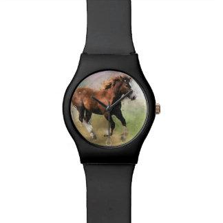 Cantering foal art watch