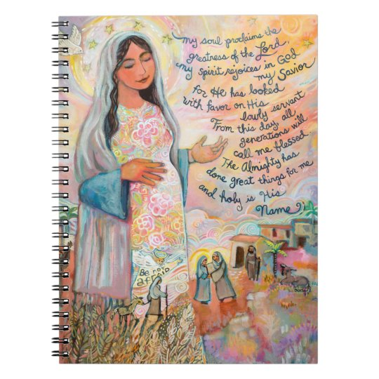 Canticle of Mary Magnificat Prayer Journal