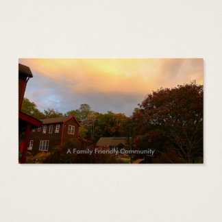 Cantine's Island Cohousing Business Cards