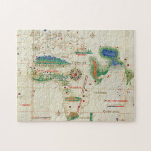 Cantino Planisphere   1502 Jigsaw Puzzle