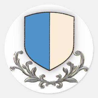 Canton Luzern Round Sticker