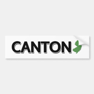 Canton New Jersey Bumper Sticker