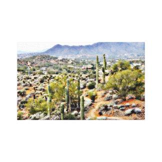 Canvas Art - Spur Cross Ranch Landscape