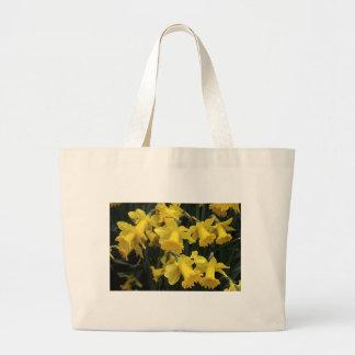 "Canvas Bag, ""Daffodils"" Large Tote Bag"