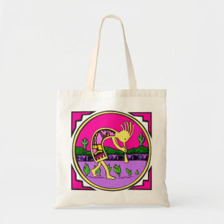 Canvas Bag: Kokopelli, Flute Player of the Desert