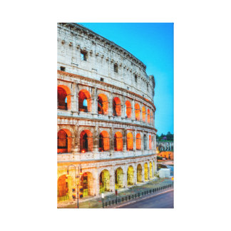 Canvas Colosseum Rome Italy