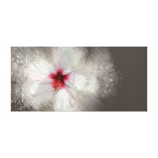 Canvas Hibiscus