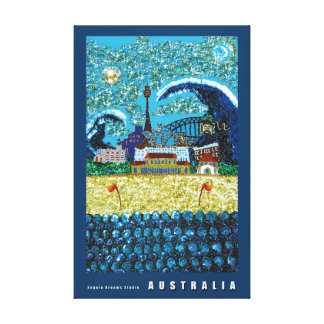 Browse the Australia Canvas Print Collection and personalise by colour, design or style.