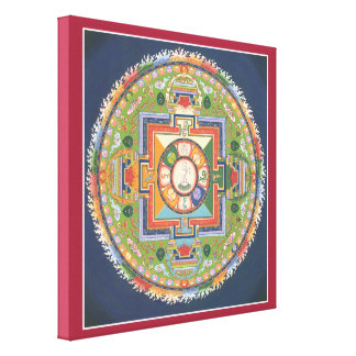 CANVAS - Mandala of Buddha of Compassion