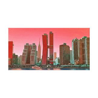 Canvas  - New York Skyline Canvas Print