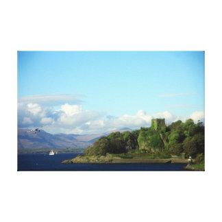 Canvas of Scotland Canvas Print