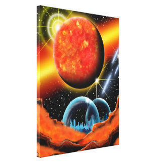 Canvas picture stretched canvas print