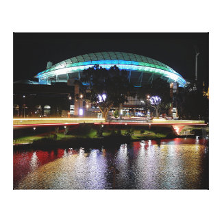 Canvas Print - Adelaide Oval at Night