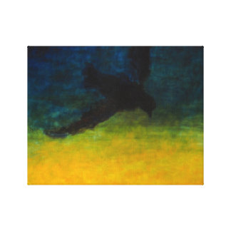 """Canvas Print of Oil Painting """"Falling"""""""