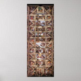 Canvas Print - Sistine Chapel Ceiling