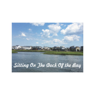 Canvas  - Sitting On The Dock Of The Bay