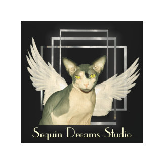 Canvas | Sphynx Cat Angel Canvas Print