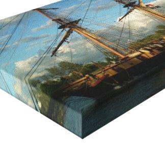 "Canvas ""tall ship going through the Welland Canal Canvas Print"