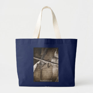 Canvas tote bag with Cello