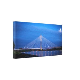 Canvas Waterford bridge