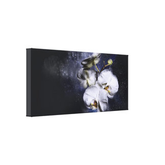 Canvas White Orchid